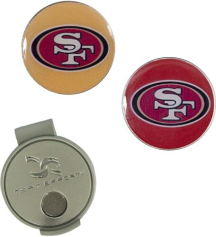 Team Effort San Francisco 49ers Hat Clip and Ball Markers Set