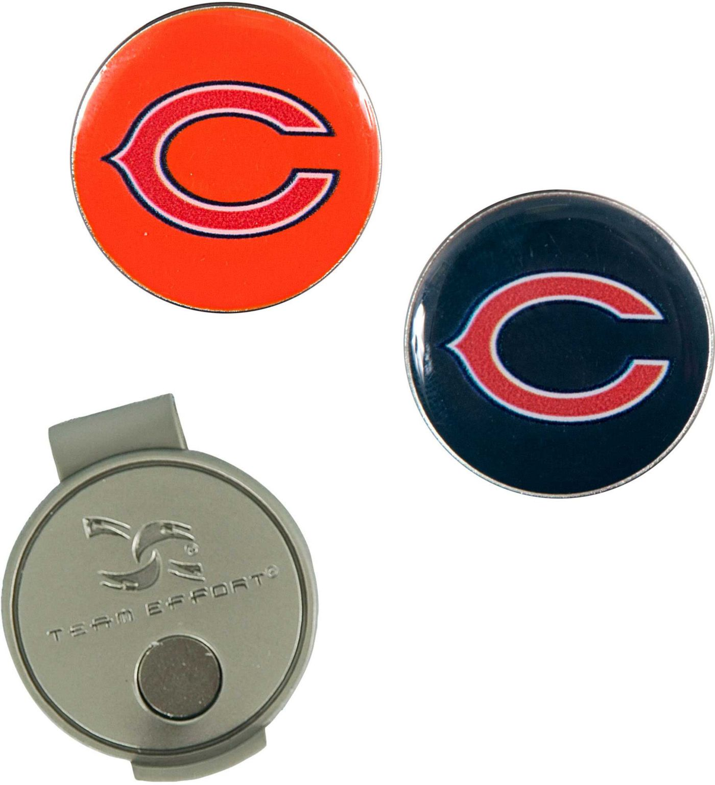 Team Effort Chicago Bears Hat Clip and Ball Markers Set