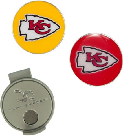 Team Effort Kansas City Chiefs Hat Clip and Ball Markers Set