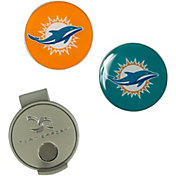 Team Effort Miami Dolphins Hat Clip and Ball Markers Set