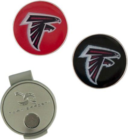 Team Effort Atlanta Falcons Hat Clip and Ball Markers Set