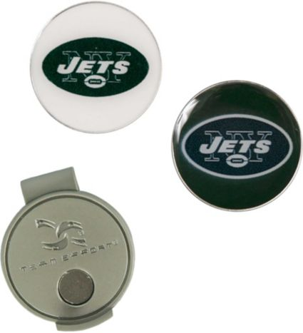 Team Effort New York Jets Hat Clip and Ball Markers Set