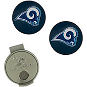 Team Effort Los Angeles Rams Hat Clip and Ball Markers Set