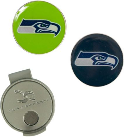 Team Effort Seattle Seahawks Hat Clip and Ball Markers Set
