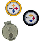 Team Effort Pittsburgh Steelers Hat Clip and Ball Markers Set
