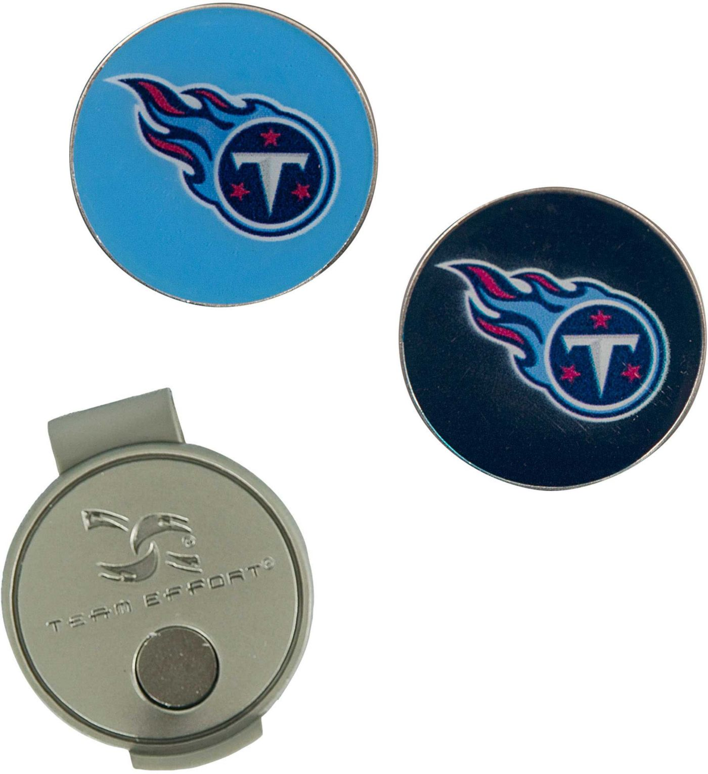 Team Effort Tennessee Titans Hat Clip and Ball Markers Set