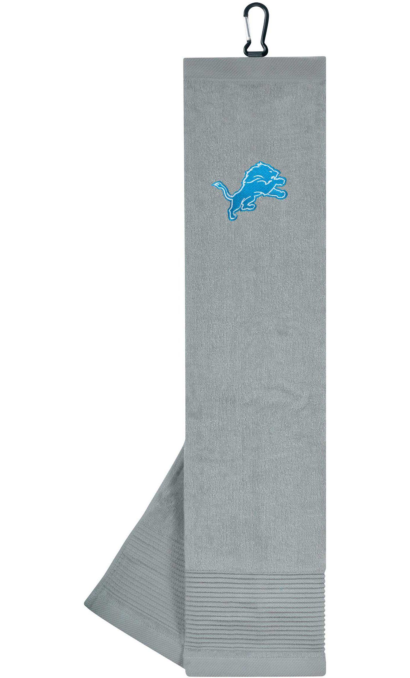 Team Effort Detroit Lions Embroidered Face/Club Tri-Fold Towel