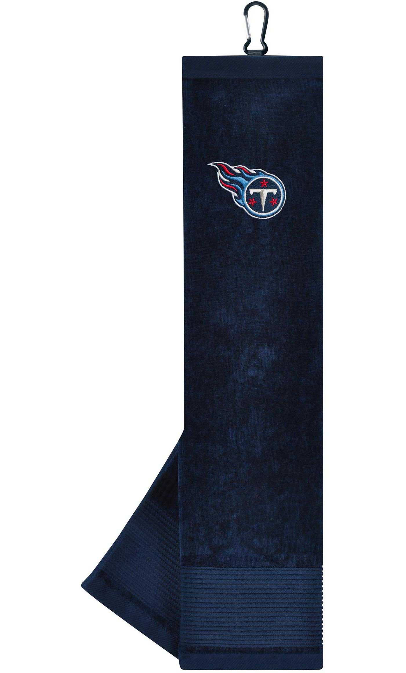 Team Effort Tennessee Titans Embroidered Face/Club Tri-Fold Towel