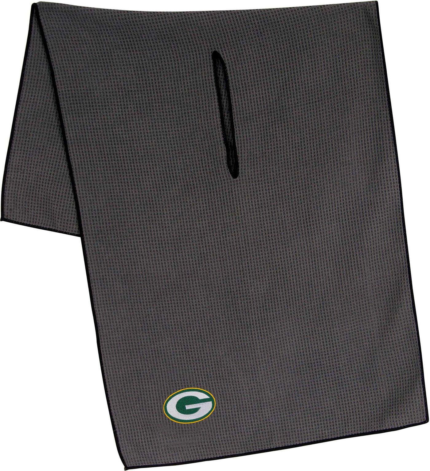 """Team Effort Green Bay Packers 19"""" x 41"""" Microfiber Golf Towel"""