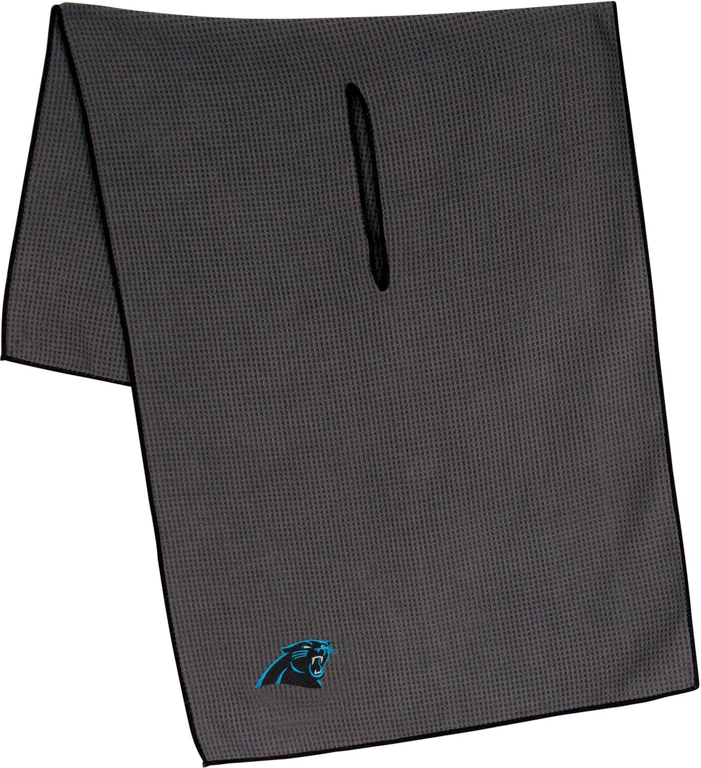 "Team Effort Carolina Panthers 19"" x 41"" Microfiber Golf Towel"