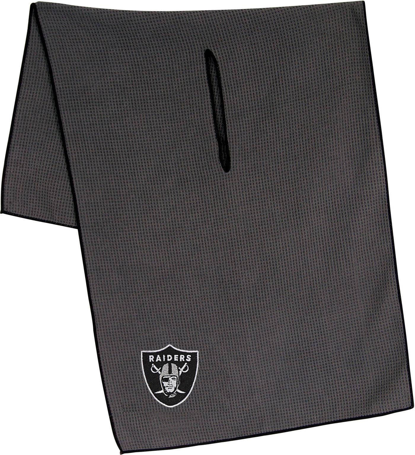 "Team Effort Oakland Raiders 19"" x 41"" Microfiber Golf Towel"