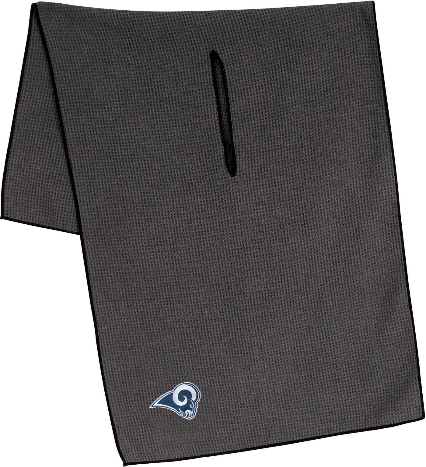 """Team Effort Los Angeles Rams 19"""" x 41"""" Microfiber Golf Towel"""