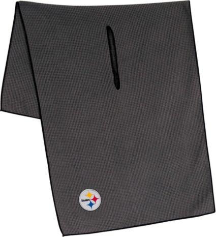 """Team Effort Pittsburgh Steelers 16"""" x 41"""" Microfiber Golf Towel"""