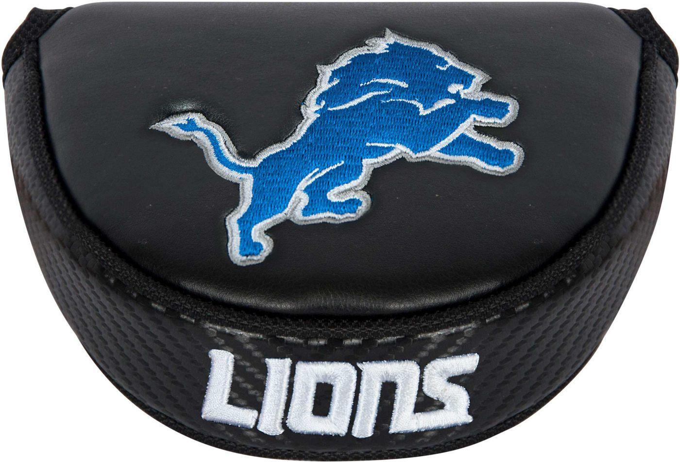 Team Effort Detroit Lions Mallet Putter Headcover