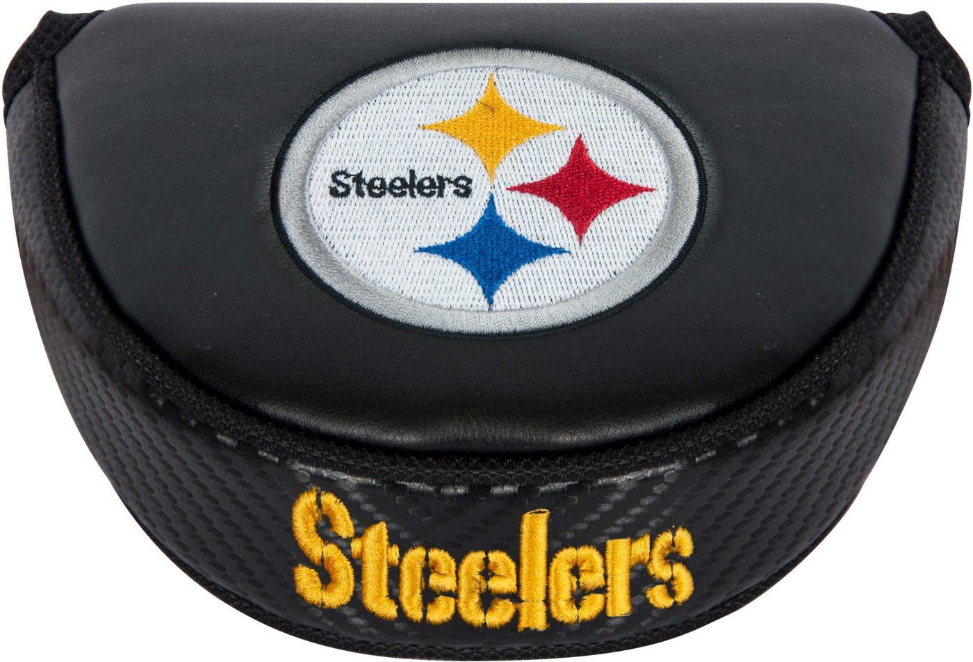 Team Effort Pittsburgh Steelers Mallet Putter Headcover