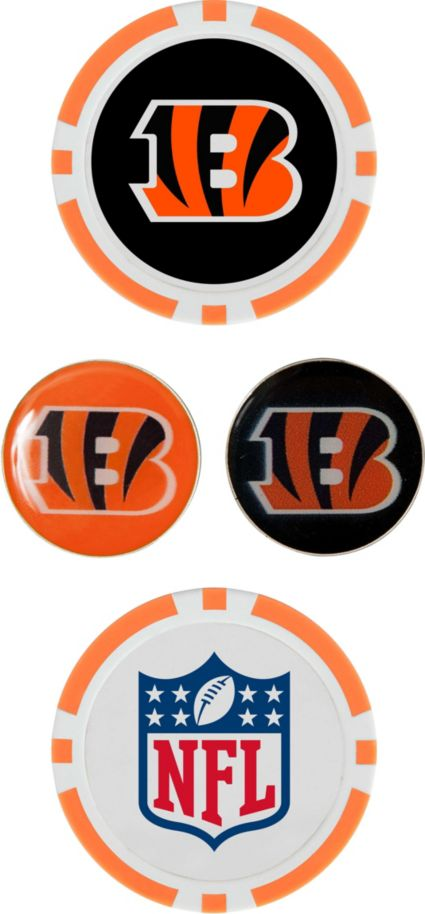 Team Effort Cincinnati Bengals Ball Marker Set