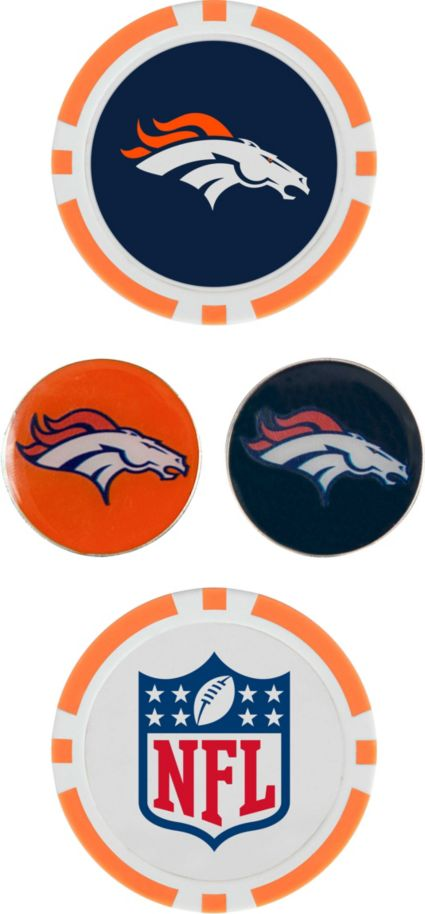 Team Effort Denver Broncos Ball Marker Set