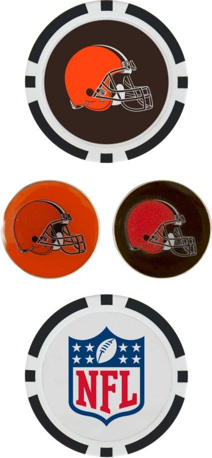 Team Effort Cleveland Browns Ball Marker Set