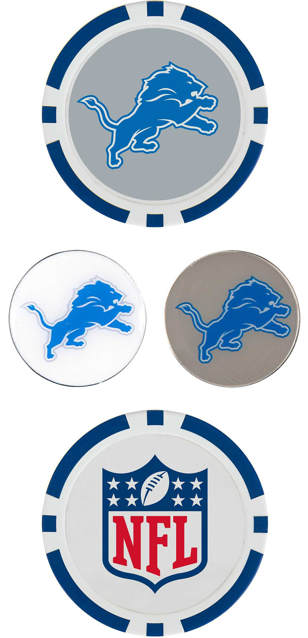 Team Effort Detroit Lions Ball Marker Set | DICK'S Sporting Goods