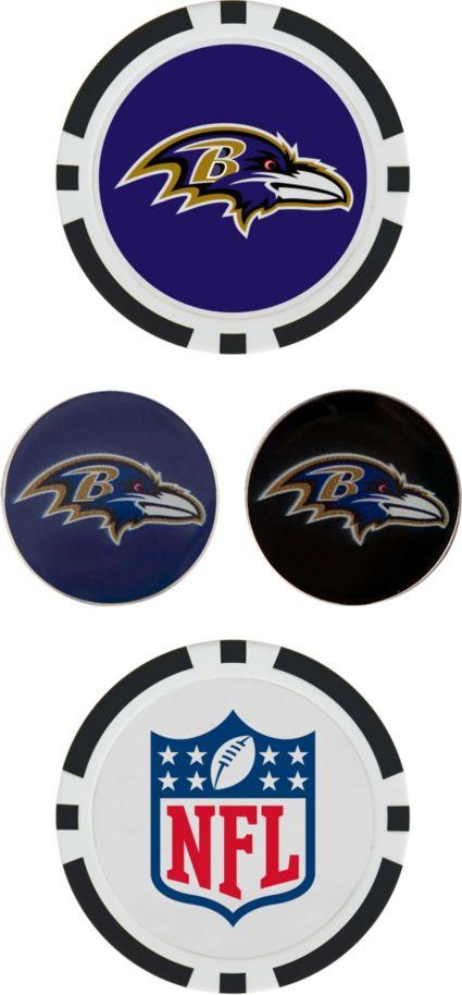 Team Effort Baltimore Ravens Ball Marker Set