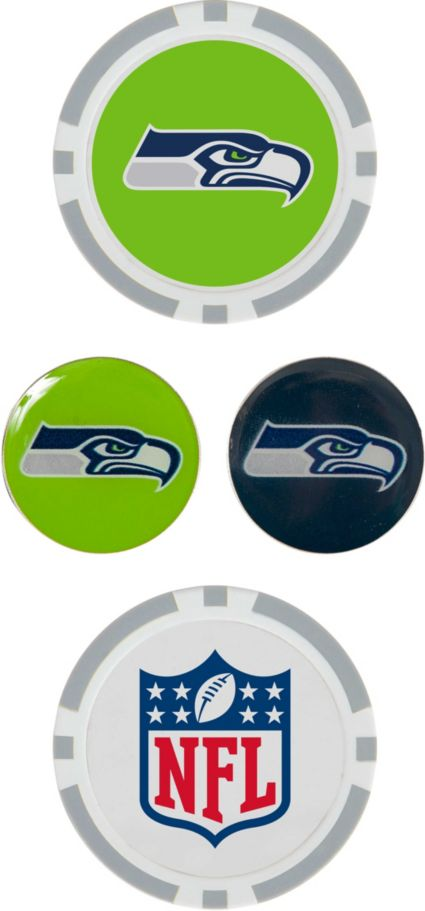 Team Effort Seattle Seahawks Ball Marker Set
