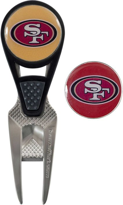 Team Effort San Francisco 49ers CVX Divot Tool and Ball Marker Set