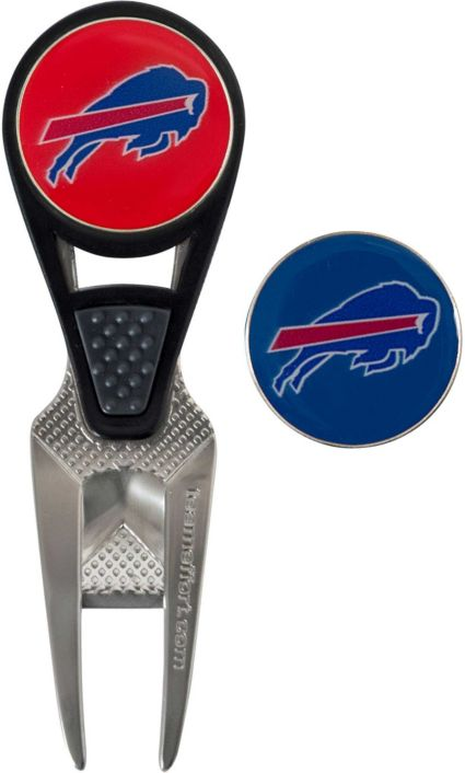 Team Effort Buffalo Bills CVX Divot Tool and Ball Marker Set