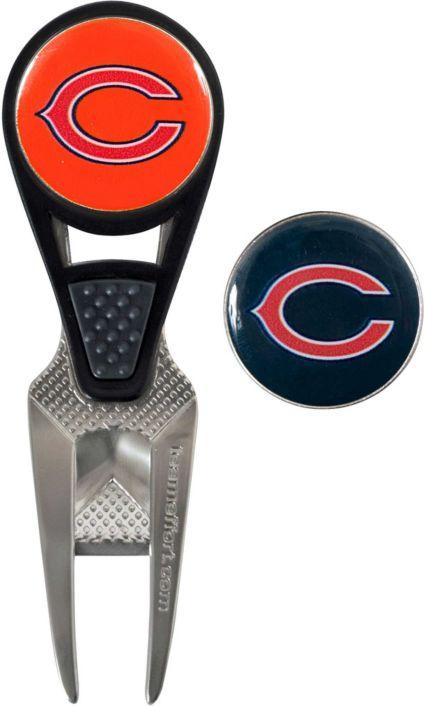 Team Effort Chicago Bears CVX Divot Tool and Ball Marker Set