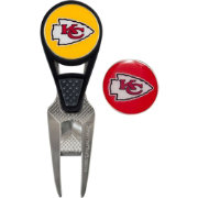 Team Effort Kansas City Chiefs CVX Divot Tool and Ball Marker Set