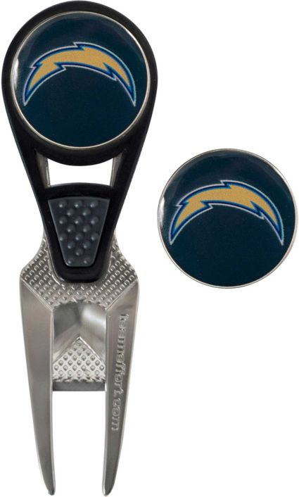 Team Effort Los Angeles Chargers CVX Divot Tool and Ball Marker Set