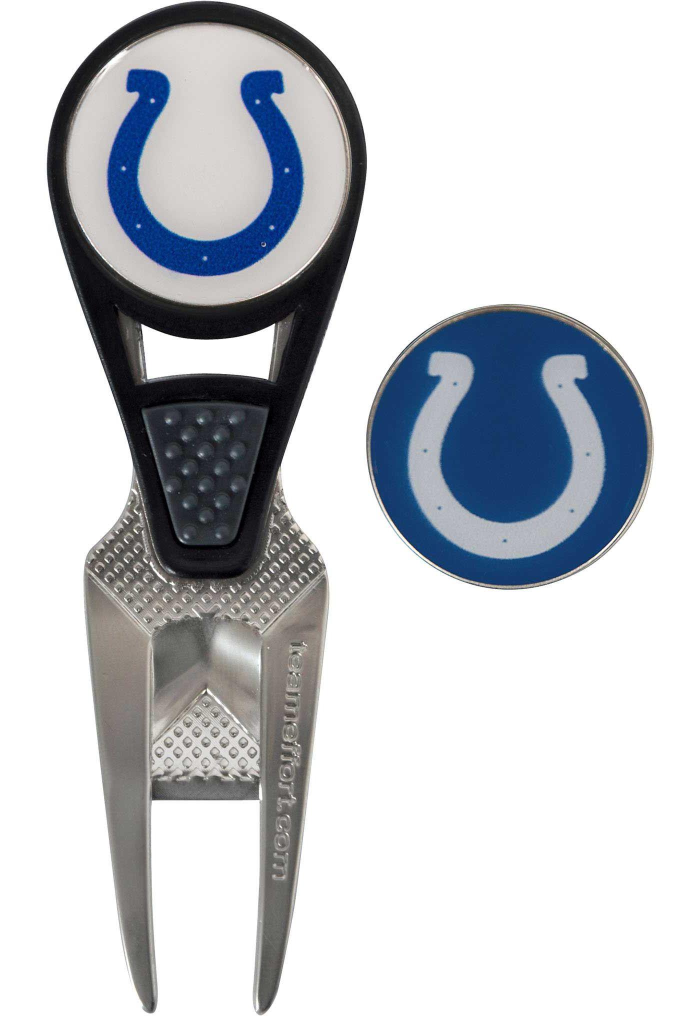 Team Effort Indianapolis Colts CVX Divot Tool and Ball Marker Set
