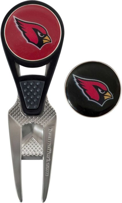 Team Effort Arizona Cardinals CVX Divot Tool and Ball Marker Set