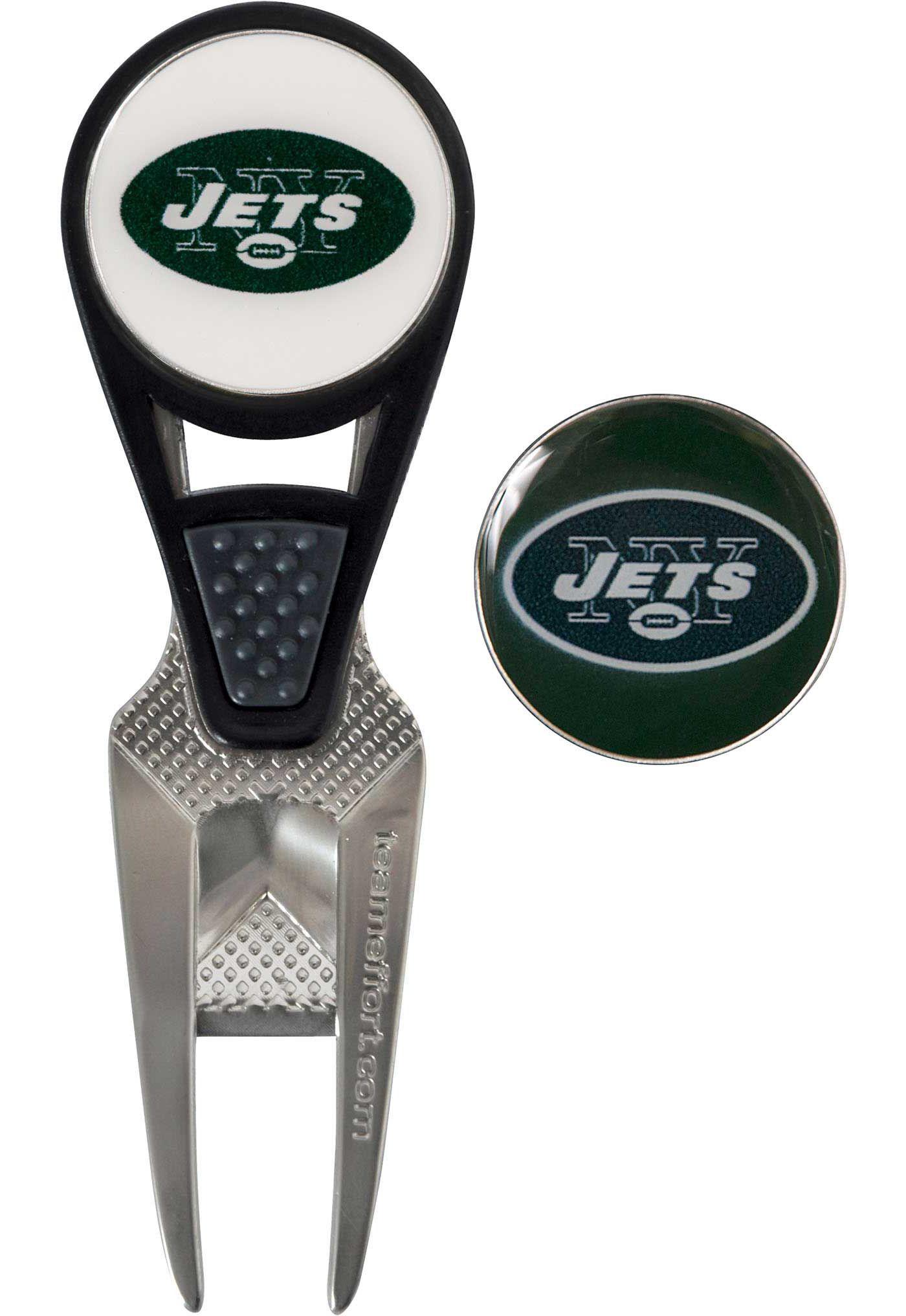 Team Effort New York Jets CVX Divot Tool and Ball Marker Set