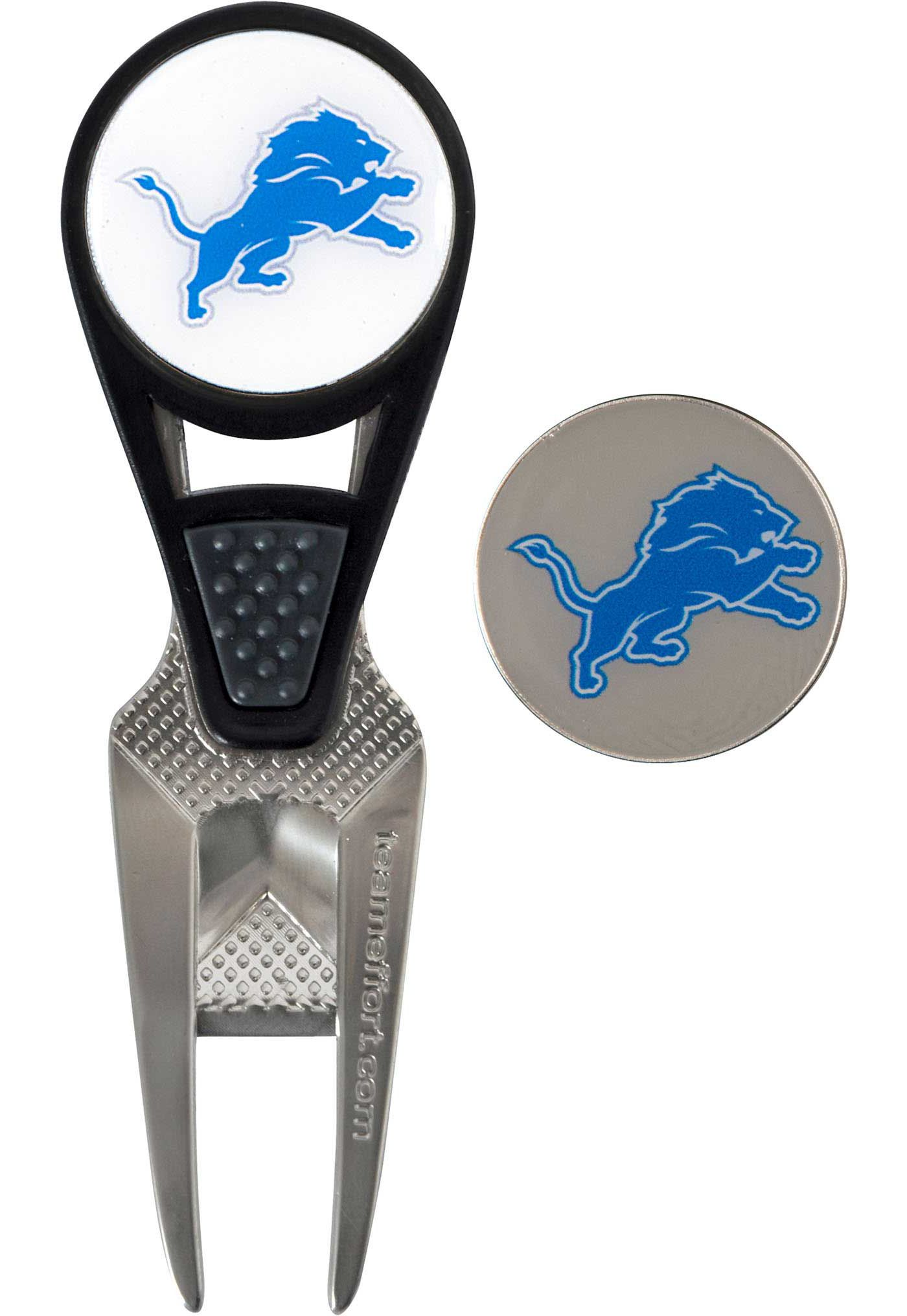Team Effort Detroit Lions CVX Divot Tool and Ball Marker Set