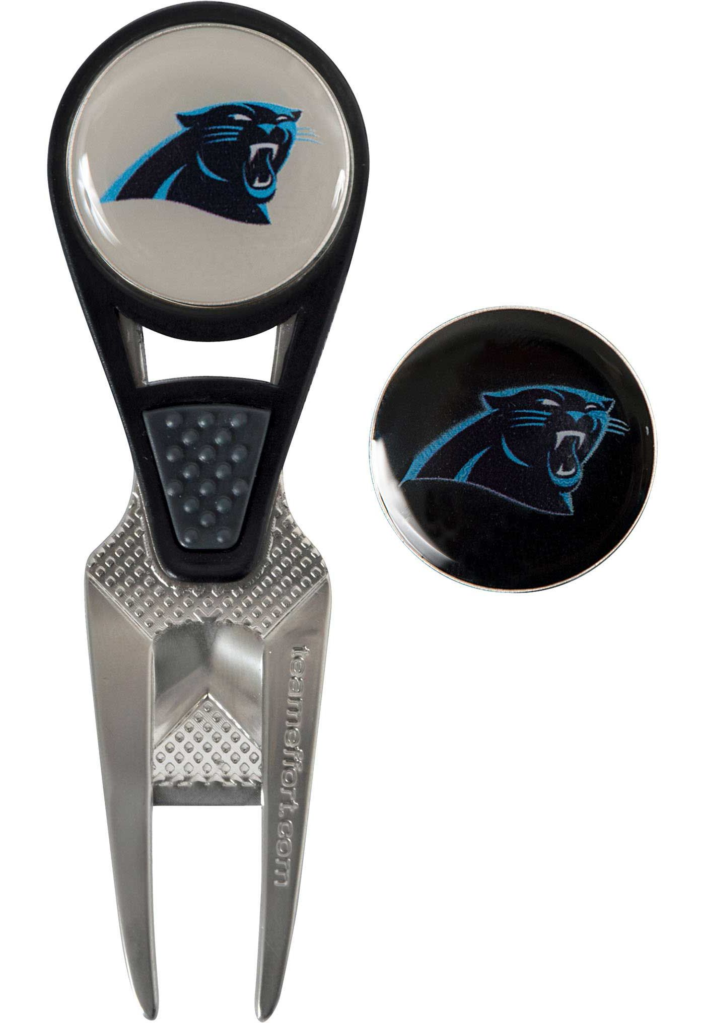 Team Effort Carolina Panthers CVX Divot Tool and Ball Marker Set