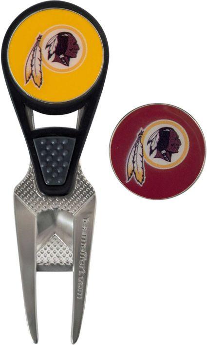 Team Effort Washington Redskins CVX Divot Tool and Ball Marker Set