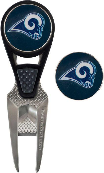 Team Effort Los Angeles Rams CVX Divot Tool and Ball Marker Set