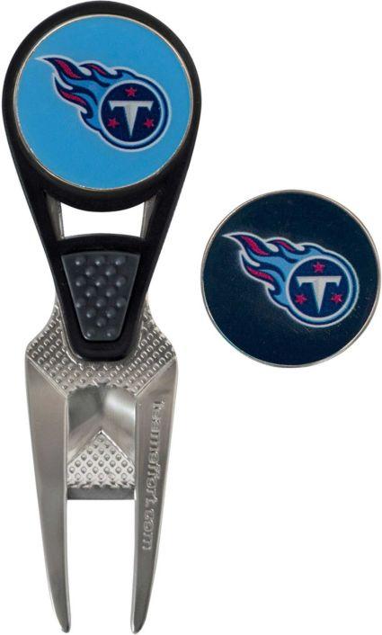 Team Effort Tennessee Titans CVX Divot Tool and Ball Marker Set