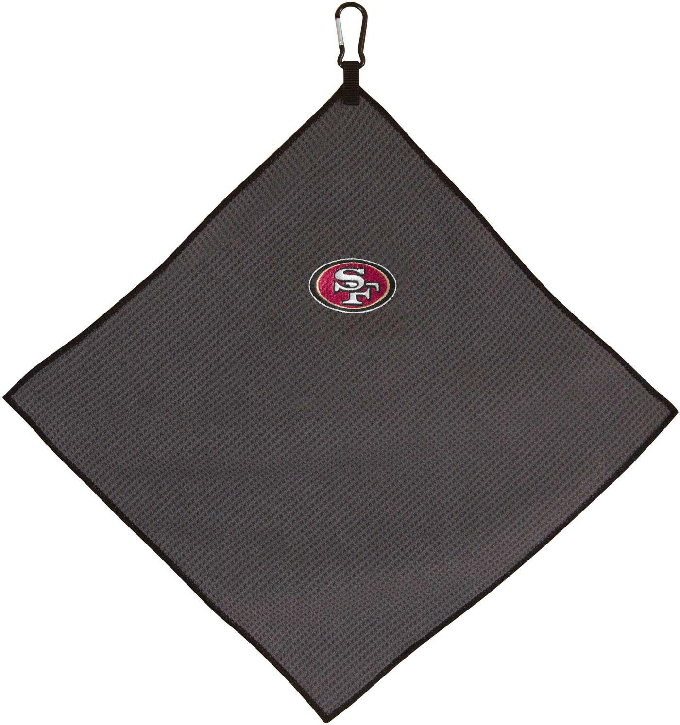 "Team Effort San Francisco 49ers 15"" x 15"" Microfiber Golf Towel"