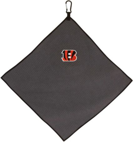 "Team Effort Cincinnati Bengals 15"" x 15"" Microfiber Golf Towel"
