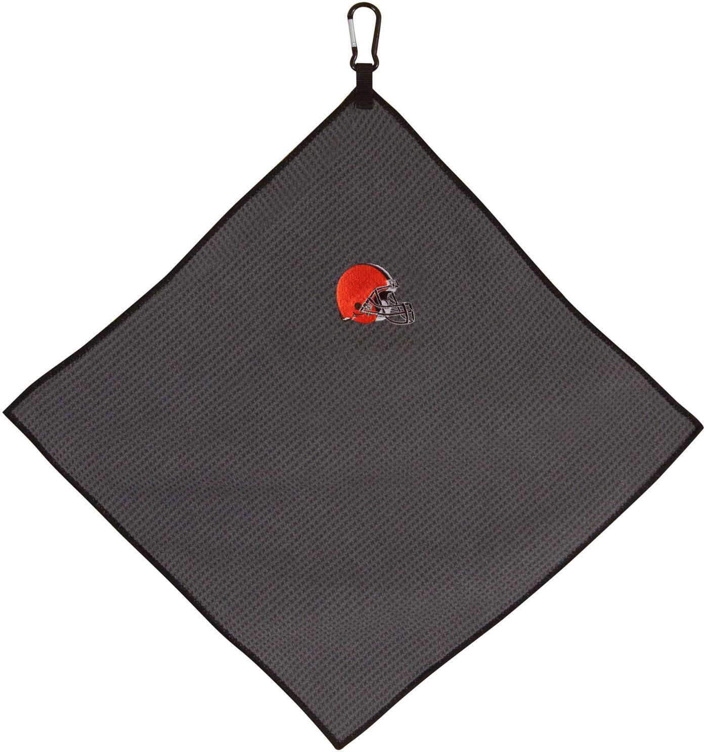 "Team Effort Cleveland Browns 15"" x 15"" Microfiber Golf Towel"
