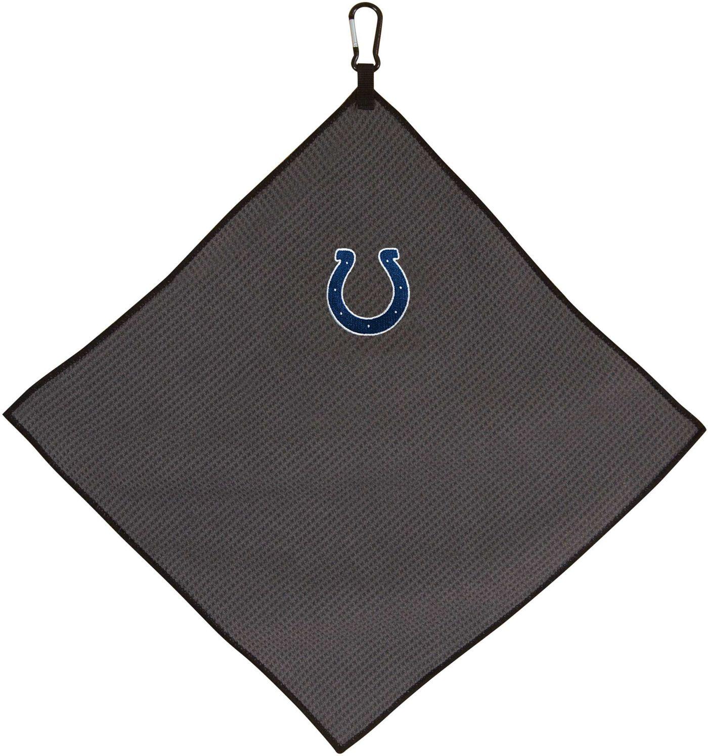"Team Effort Indianapolis Colts 15"" x 15"" Microfiber Golf Towel"