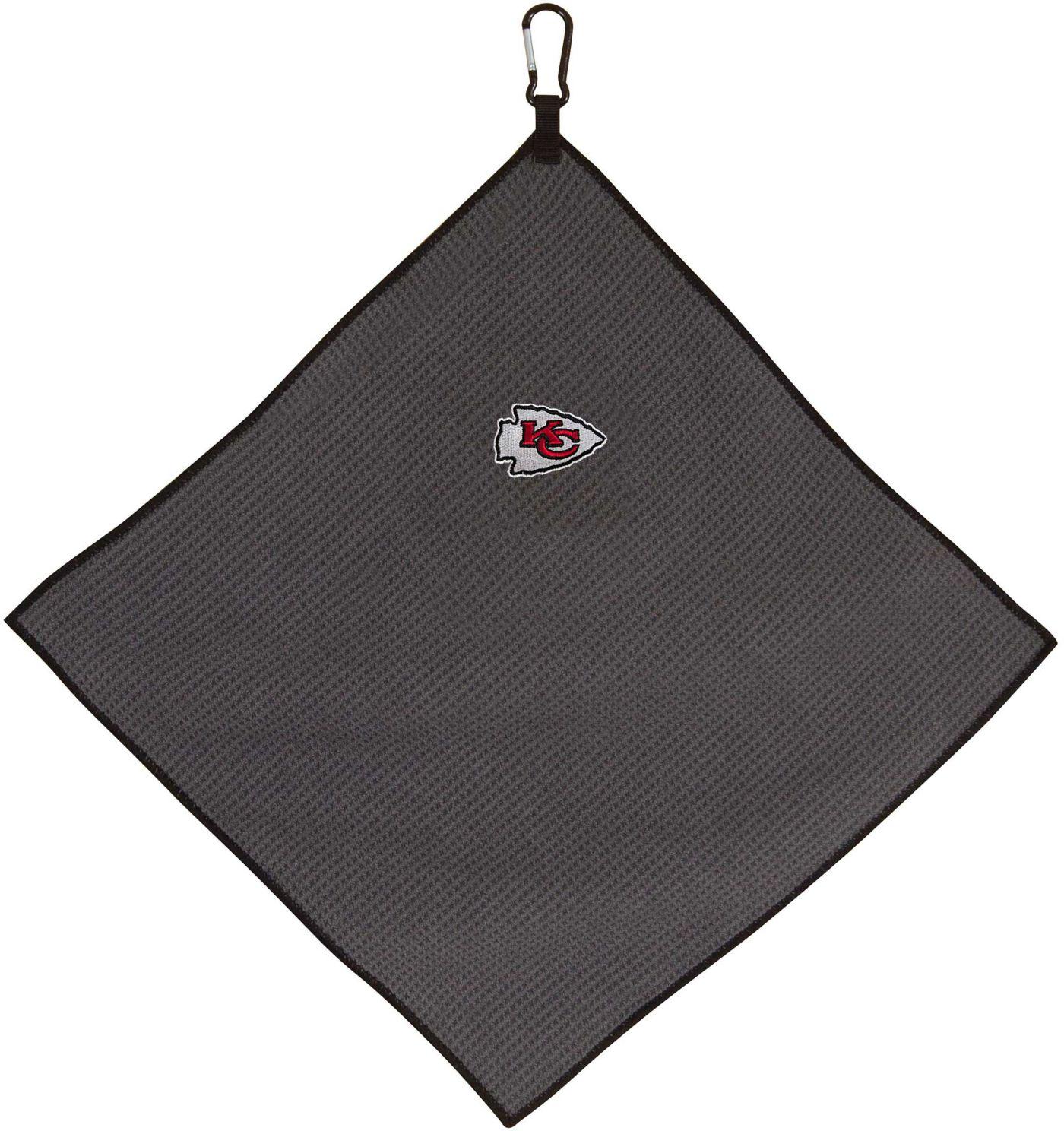 "Team Effort Kansas City Chiefs 15"" x 15"" Microfiber Golf Towel"