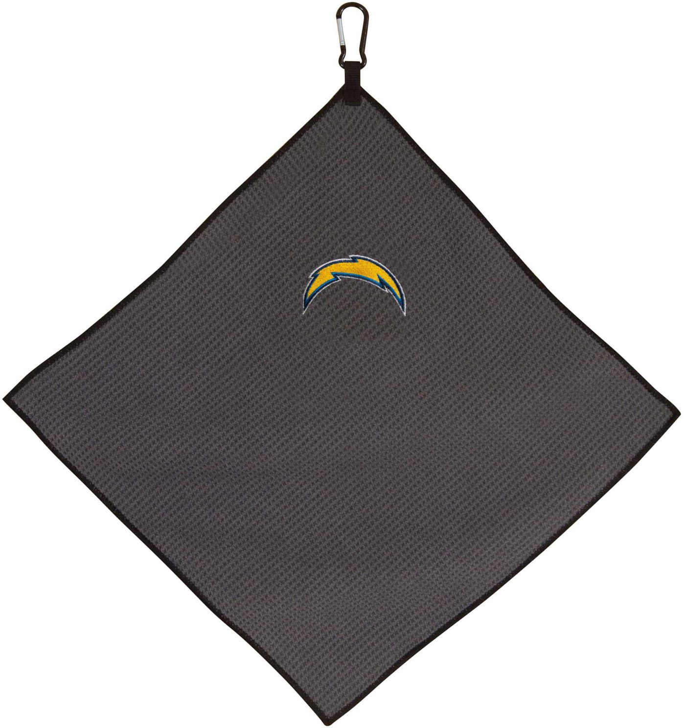 "Team Effort Los Angeles Chargers 15"" x 15"" Microfiber Golf Towel"