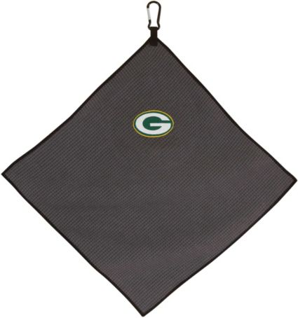 """Team Effort Green Bay Packers 15"""" x 15"""" Microfiber Golf Towel"""