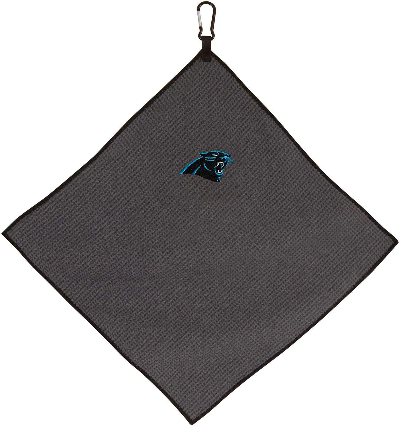 "Team Effort Carolina Panthers 15"" x 15"" Microfiber Golf Towel"