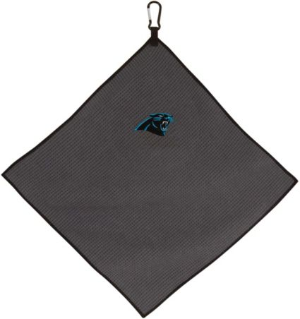"Team Effort Carolina Panthers 15"" x 15"" Microfiber Golf Towel"