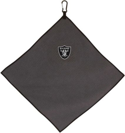 "Team Effort Oakland Raiders 15"" x 15"" Microfiber Golf Towel"