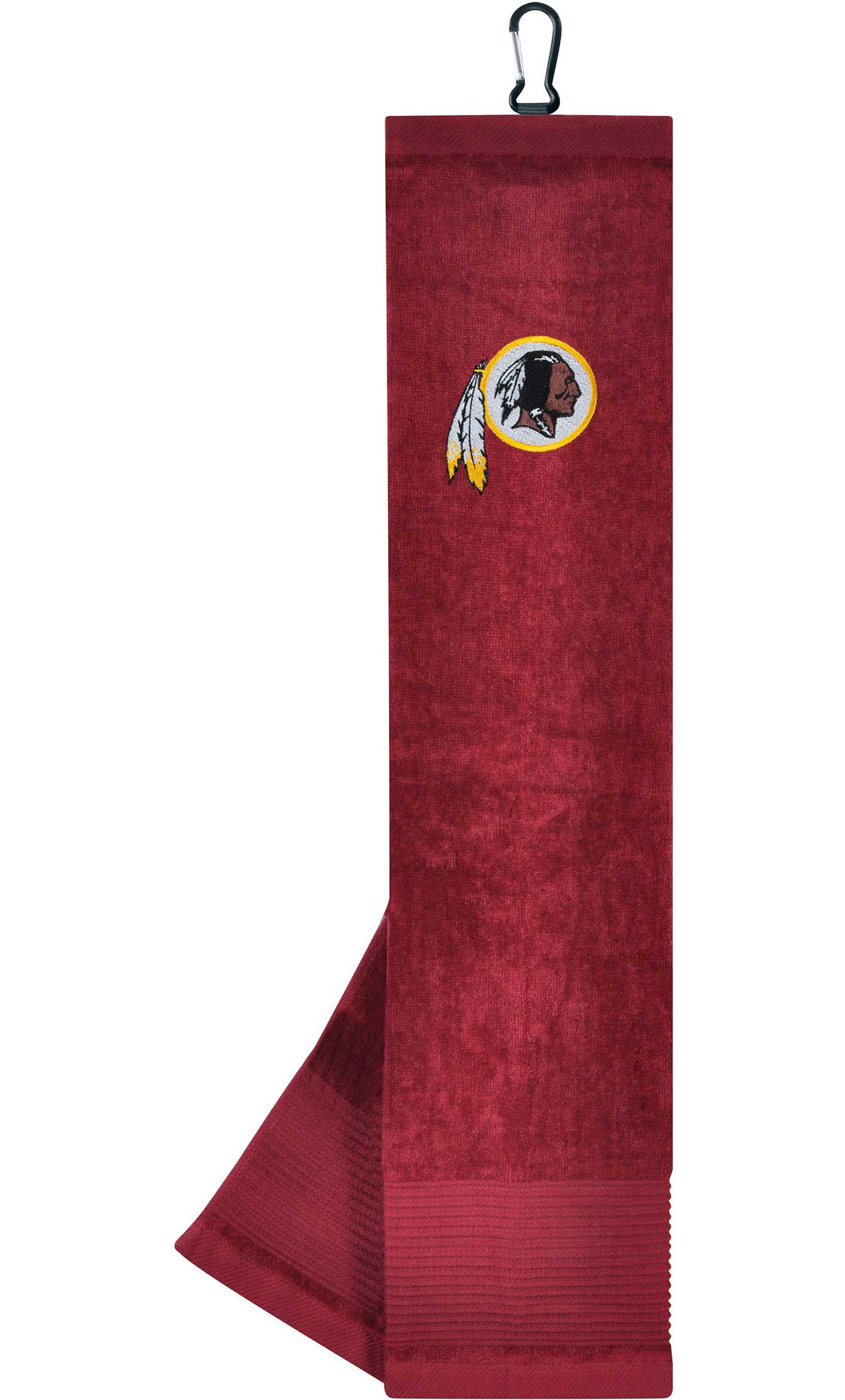 "Team Effort Washington Redskins 15"" x 15"" Microfiber Golf Towel"