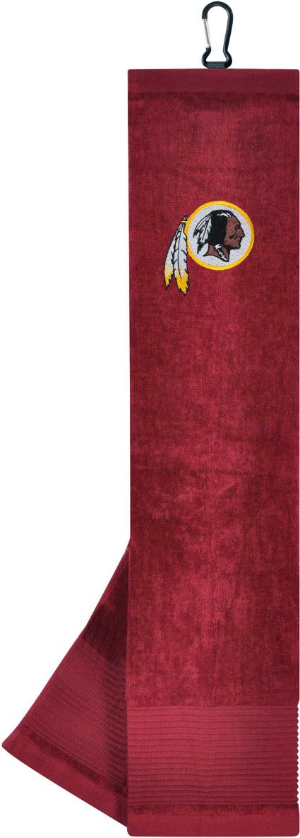 "Team Effort Washington Redskins 15"" x 15"" Microfiber Golf Towel"